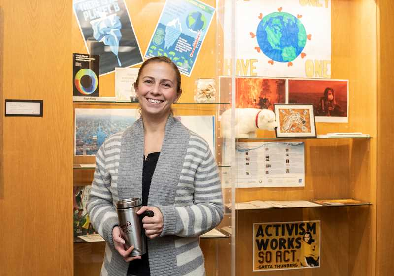 COURTESY PHOTO - Lake Oswego Sustainability Analyst Jenny Slepian will speak at the Feb. 20 event Sustainability — Id Rather be Metal than Plastic.