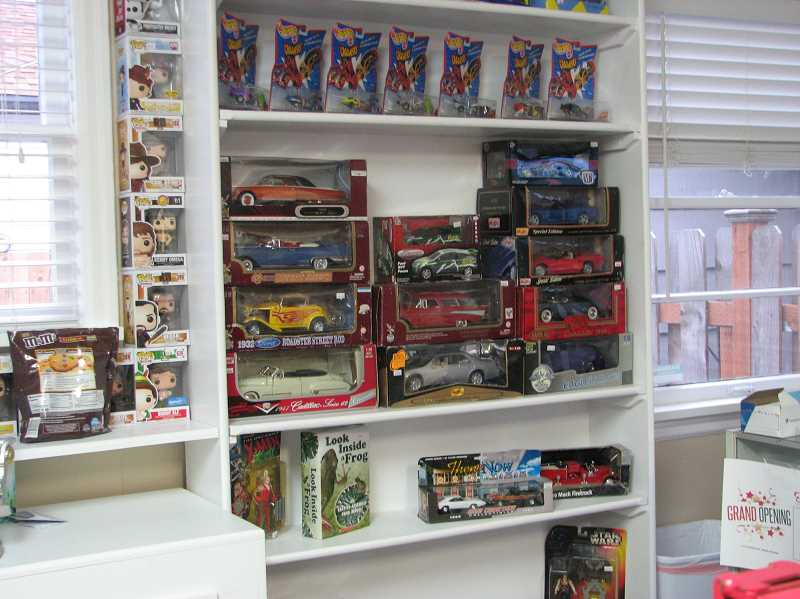 PMG PHOTO: SANDY STOREY - The store will offer collectibles and toys from Hot Wheels and Funko Pops to Star Wars merchandise and model kits.