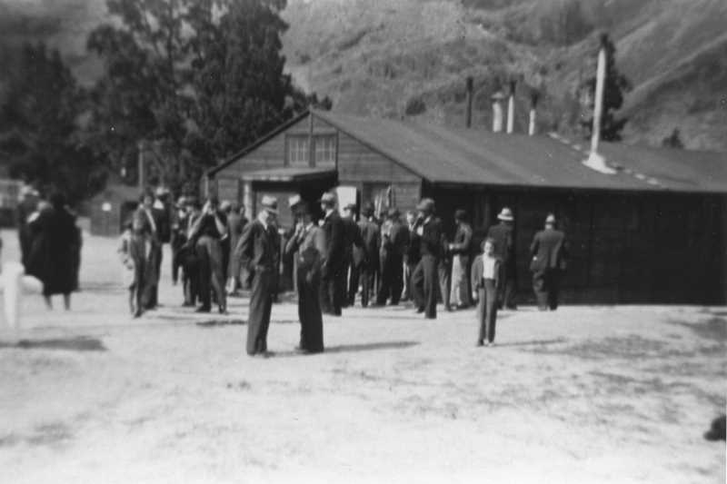PHOTO COURTESY OF BOWMAN MUSEUM - Camp Bear Creek was one of a several Civilian Conservation Corps camps in Crook County.
