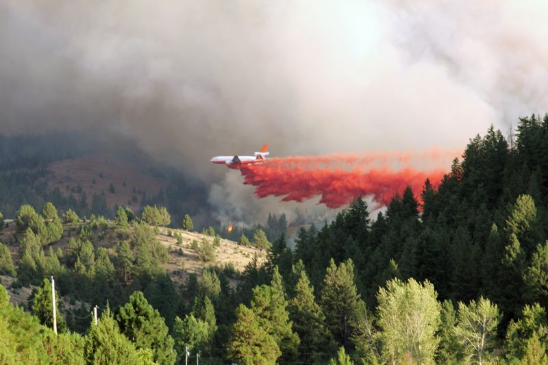 COURTESY PHOTO - Oregon lawmakers are wrangling a bill to help the state fight wildfires. Some legislators think the issue is too difficult to tackle in the short legislative session.
