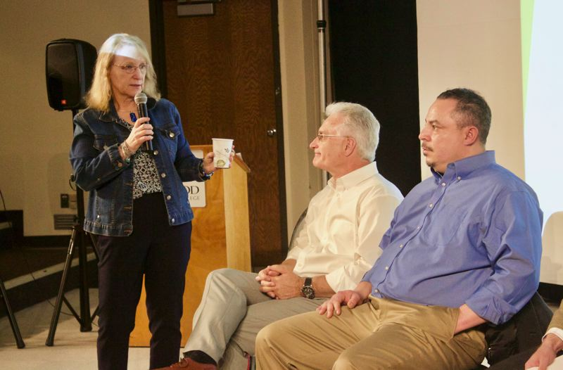 PMG PHOTO: CHRISTOPHER KEIZUR - Gresham leadership convened a meeting last month to brainstorm potential solutions for the citys lack of parks funding.