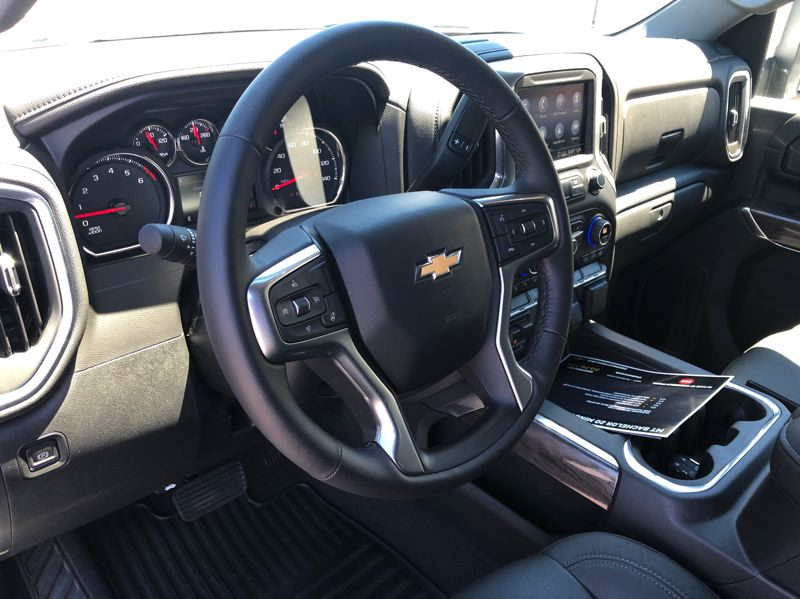 PMG PHOTO: JEFF ZURSCHMEIDE - The interior of the 2020 Chevy Silverado HD is roomy and comfortable, and can be ordered with the most advanced automotive technologies.