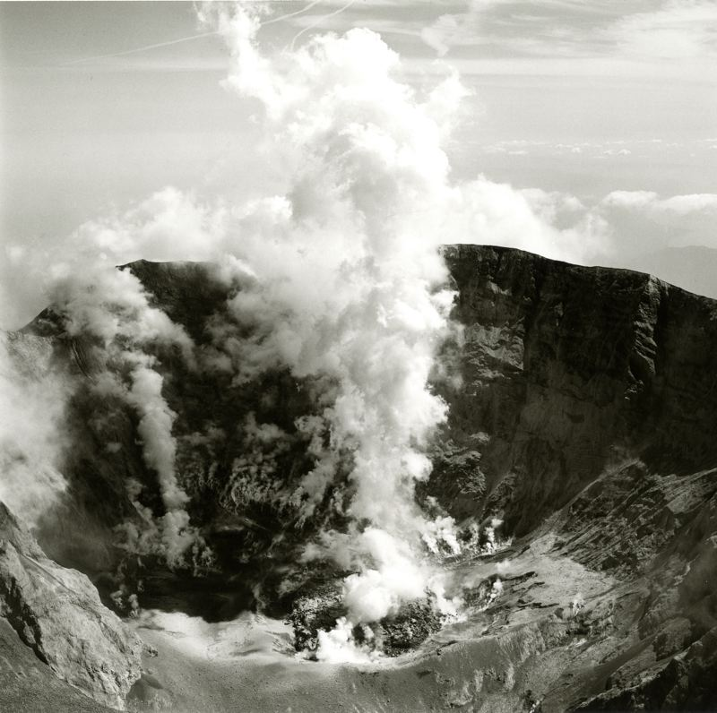 COURTESY PHOTO: PORTLAND ART MUSEUM - Many photographers, including Emmet Gowin, have documented Mount St. Helens through the years.