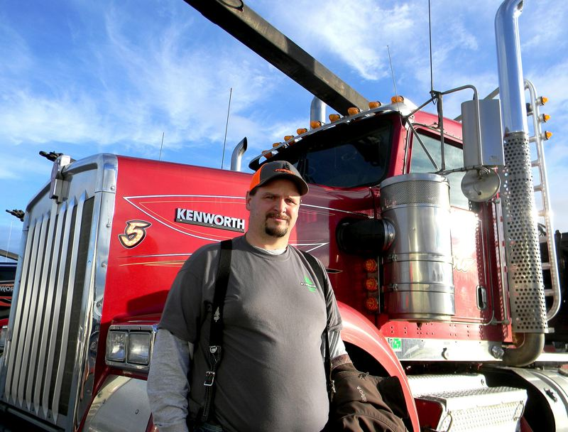 OREGON CAPITAL BUREAU: JAKE THOMAS - Truck driver Jeremy Stinnett sees proposed climate-action legislation as a threat to his industry.