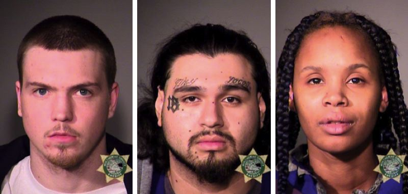 MCSO PHOTOS - FROM LEFT: Darin Carter, Misael Mendoza and Ossie Spencer