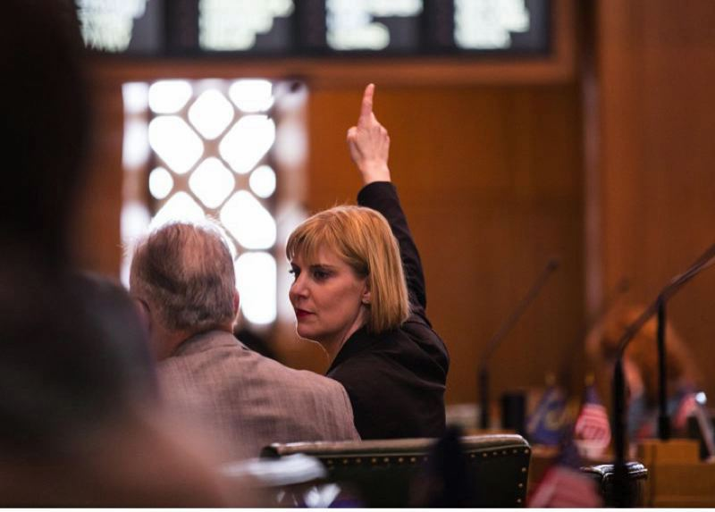PMG FILE PHOTO - Former Oregon House Majority Leader Jennifer Williamson, D-Portland, has abruptly suspended her campaign for Oregon secretary of state.