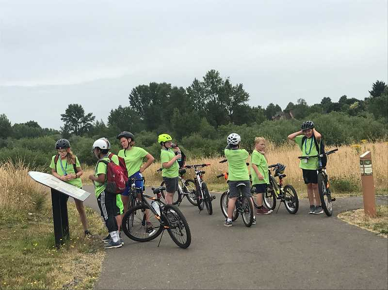 COURTESY PHOTO - Two weeklong bike adventure camps will take place in Wilsonville this summer.