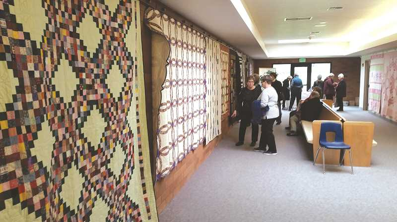 JOHN BAKER - There will be quilts of all types at this year's Zion Mennonite Quilting Workshop.
