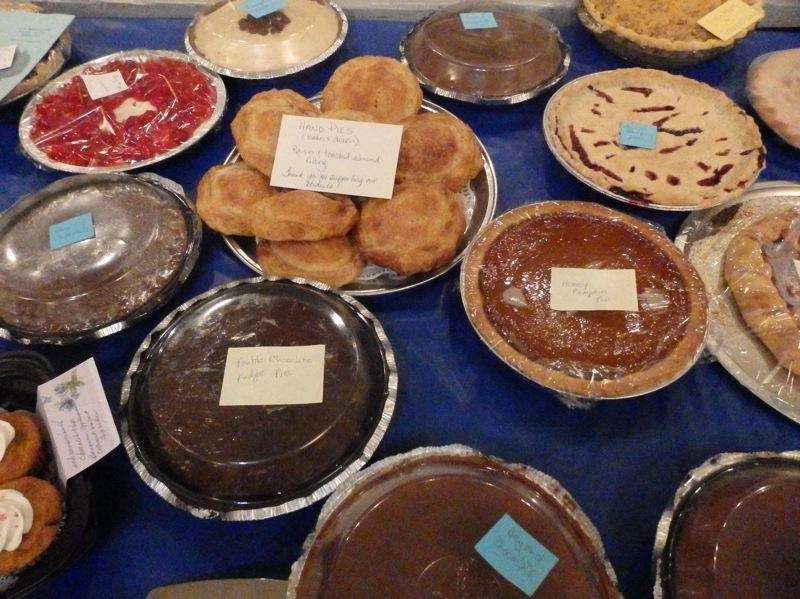 COURTESY PHOTO - The annual Springwater Grange Scholarship Pie Auction will be held on Friday, February 28.