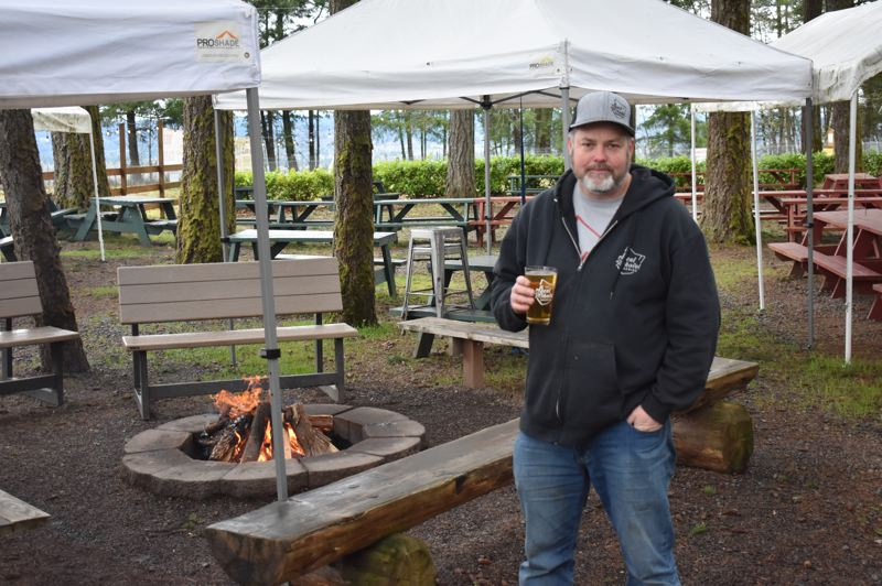 PMG PHOTO: EMILY LINDSTRAND - Rick Strauss of Bent Shovel Brewing is one of many craft brewers around the state participating in Zwickelmania.