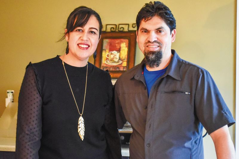 PMG PHOTO: BRITTANY ALLEN - Brie and Juan Escalante have owned Le Happy in Portland for five years and plan to open a Sandy location soon.