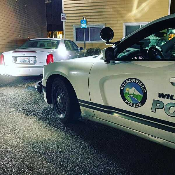 COURTESY PHOTO: CLACKAMAS COUNTY SHERIFF'S OFFICE - Wilsonville Police chased a driver of a stolen vehicle to Portland Monday.