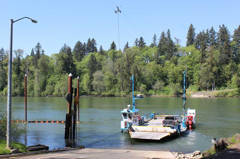 PMG FILE PHOTO: KRISTEN WOHLERS - The Canby Ferry.
