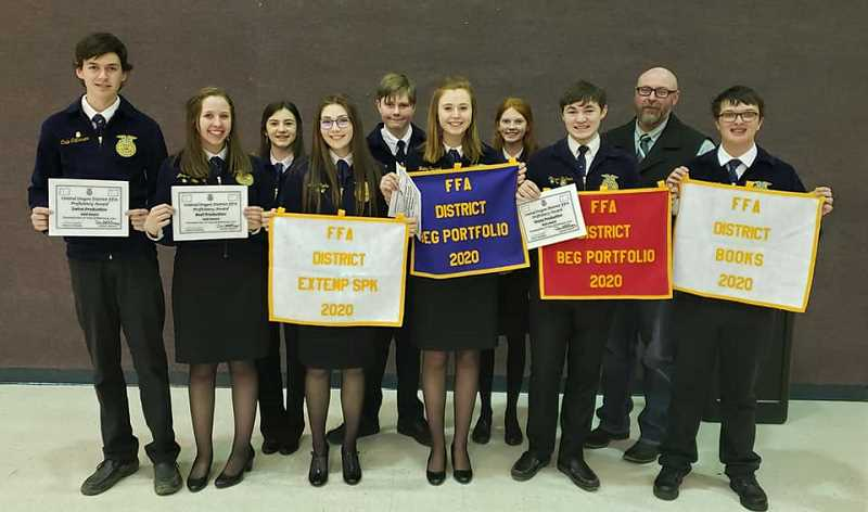 PHOTO COURTESY OF DAN MCNARY - On Monday, Feb. 10, chapters gathered for our Central Oregon District FFA Leadership Convention in Redmond.