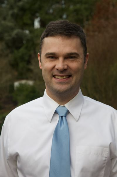 COURTESY ANDY SAULTZ - Andy Saultz of Cedar Mill, an education professor at Pacific University, seeks the Democratic nomination for the open House District 33 seat in the May 19 primary.