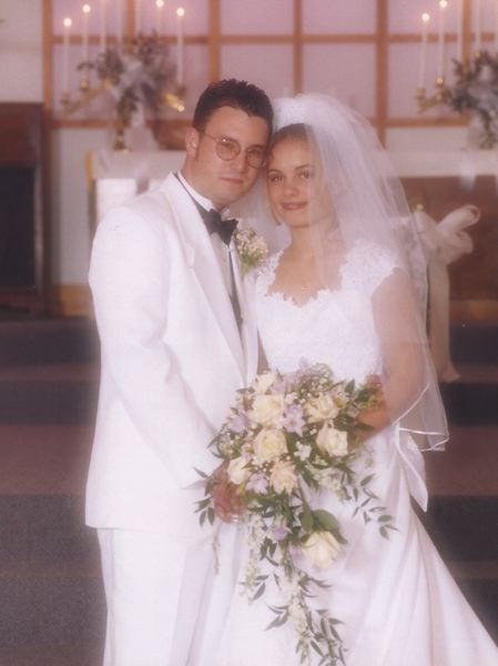 COURTESY PHOTO: LIGATICH FAMILY - David and Dana Ligatich were married in 1998 after falling in love in Spanish class.