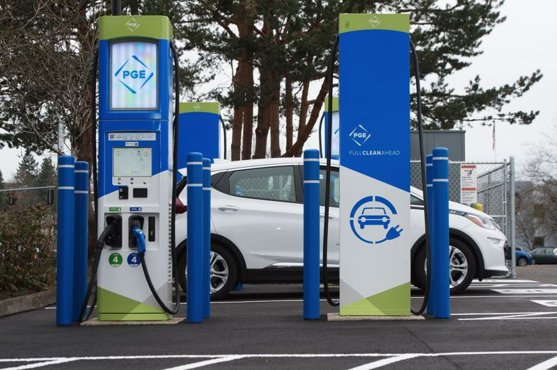 COURTESY PGE - Portland General Electric sold Oregon Clean Fuels Program credits and is using the money to buy electric vehicles for various nonprofits around town.