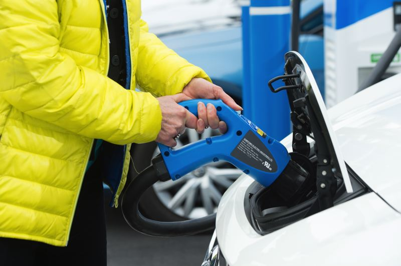 COURTESY PGE - Consumers are getting a handle on electric vehicles and how to charge them on the go.