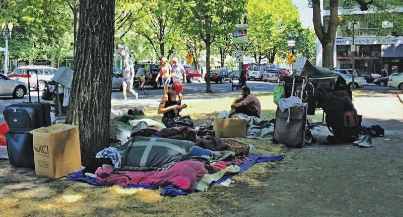 PMG FILE PHOTO - The topic of providing services for the homeless has taken on greater attention at the city, regional and state levels this year.