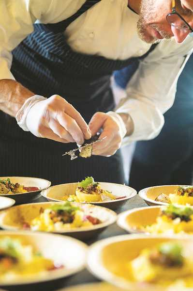 SUBMITTED PHOTO - Attendees at a number of the festival's activities will have the opportunity to sample dishes made by prominent area chefs.