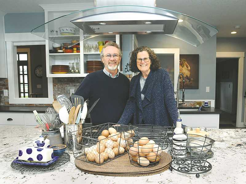 GRAPHIC PHOTO: GARY ALLEN - Innkeepers Dan and Maureen DeFrancia both have hotel experience at high-end resorts and bring that to their new business near Newberg.