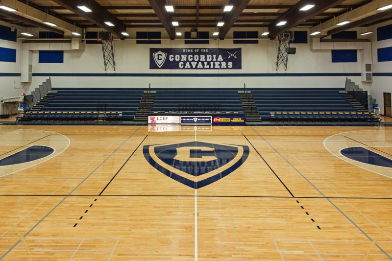 PMG PHOTO: CHRISTOPHER OERTELL  - The basketball court at Concordia has been a popular venue for lots of athletics programs.