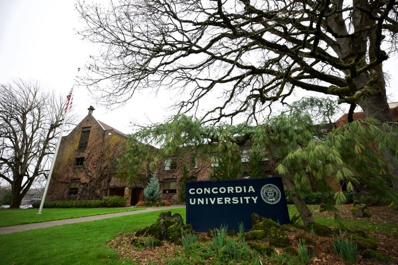 PMG PHOTO: JAIME VALDEZ - This week's news that Concordia University would shut down at the end of the academic year has left students reeling and others in the community wondering about the future of the 24-acre campus.