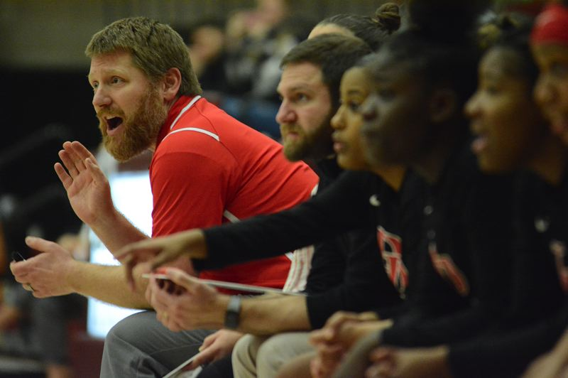 PMG PHOTO: DAVID BALL - David Douglas coach Chris Cavanaugh has the Scots tied for third place in the Mount Hood Conference with three games remaining in the regular season.