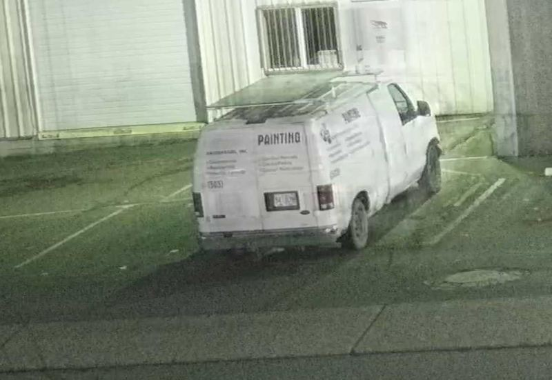 PPB PHOTO - Police are still looking for info on this truck used in the incident.