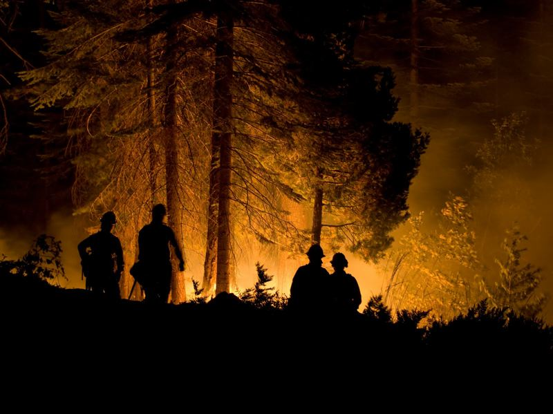 PMG FILE PHOTO - State plans to fight wildfires might have to wait as lawmakers wrestle with budget issues.