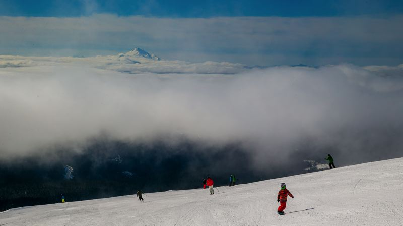 COURTESY PHOTO: MT. HOOD MEADOWS - Mt. Hood Meadows is a popular ski and snowboard resort on Mount Hood east of Government Camp