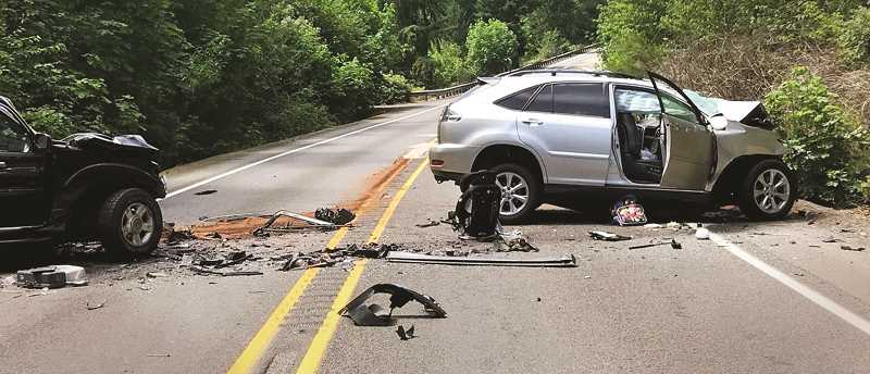 GRAPHIC FILE PHOTO - Crashes on McKay Road over the past two years have claimed a number of lives.