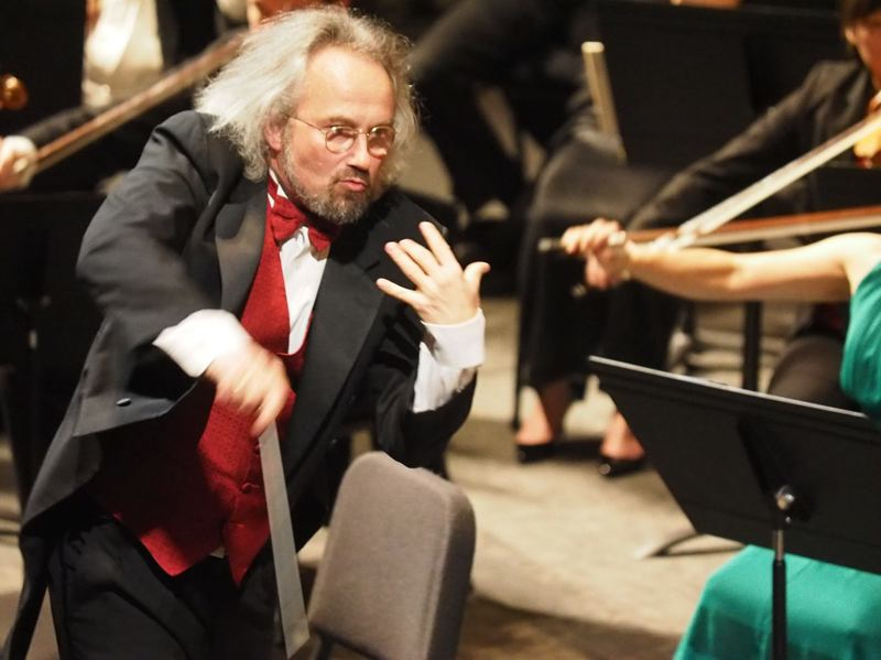 COURTESY PHOTO - Carlos Kalmar will lead the Oregon Symphony into the 2020-21 season, his final season, although he refrains from calling it 'retirement.' The symphony, meanwhile, has been doing a worldwide search for his replacement.