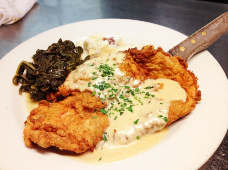 COURTESY PHOTO - It's at Mother's: Chicken fried chicken.