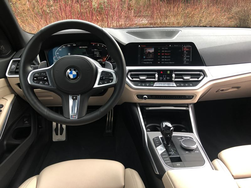 PMG PHOTO: JEFF ZURSCHMEIDE - The infotainment interface has been greatly improved over the last 10 years. A multi-function dial/joystick on the console allows complete control, but the screen on the dash also supports touch functions.