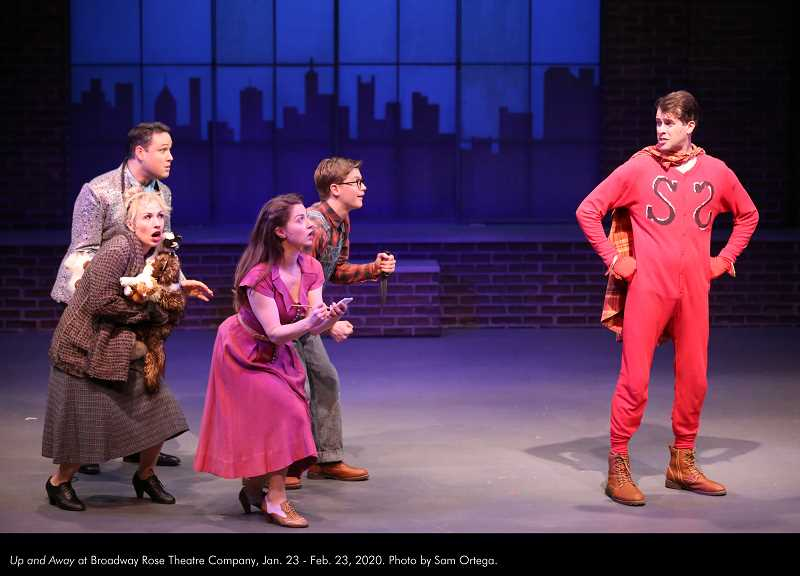 Broadway Rose presents Up and Away through Feb. 23. Dont miss it.