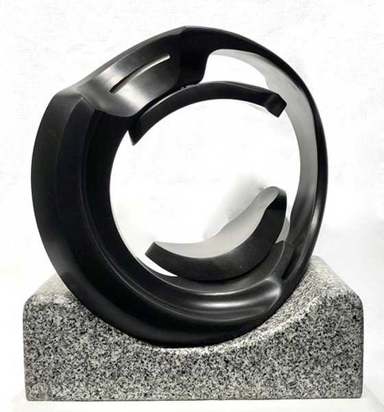 Dave Hasletts stone sculptures will be on exhibit at the Home & Garden Show this weekend.
