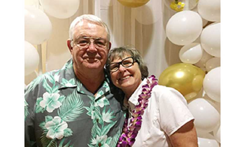 SUBMITTED PHOTO - Lynn and Judy Caroll are celebrating their 50th wedding anniversary this month.