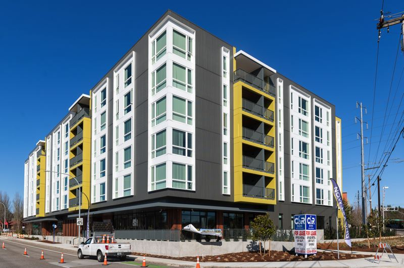 PMG PHOTO: CHRISTOPHER OERTELL - The new Willow Creek Crossing Apartments at Southwest Baseline Road in Hillsboro.