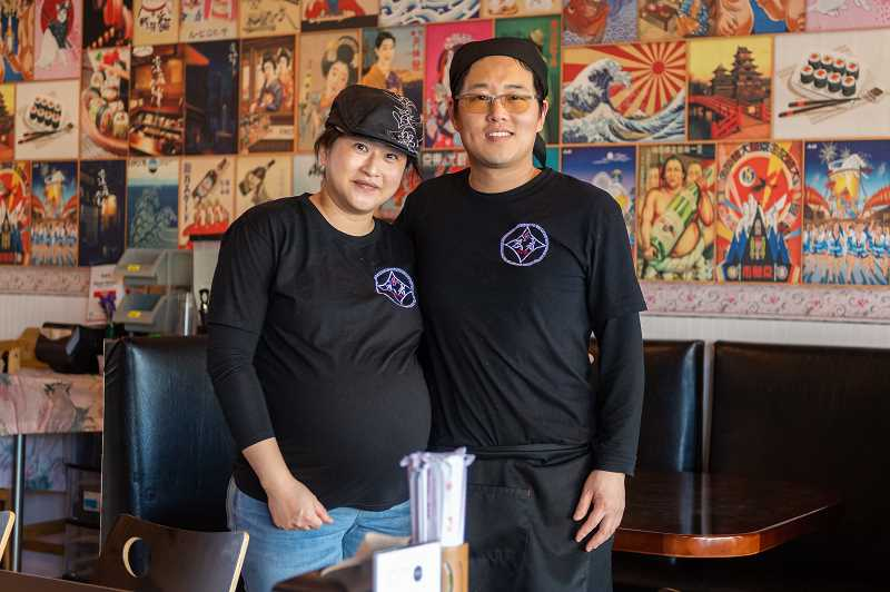 PMG PHOTO: CHRISTOPHER OERTELL - Chiga and Hitsumoto Taka own Ninja Ramen in HIllsboro located at 2020 N.E. Cornell Road, Suite #D. The restaurant specializes in authentic Japanese ramen.
