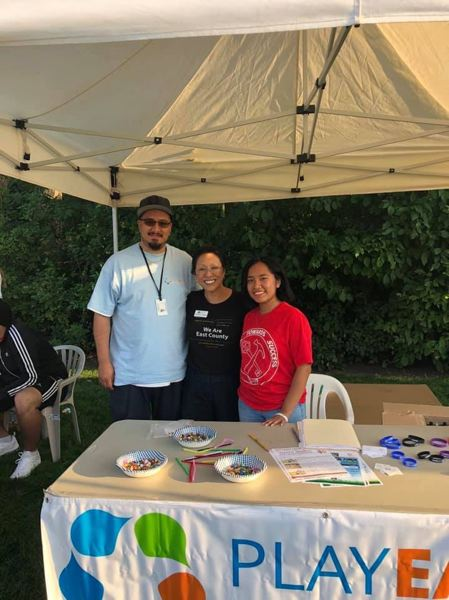 PMG PHOTO: SHANNON O. WELLS - As Play East's program director, Jairo Rios-Campos spends a lot of time in the field engaging with participants and volunteers in the recreation program.