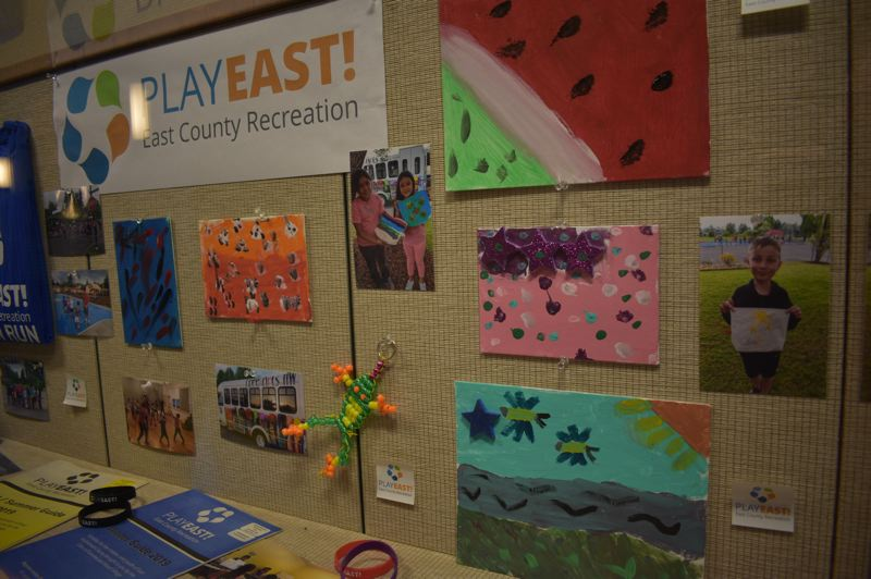 PMG PHOTO: SHANNON O. WELLS - Jairo Rios-Campos of Play East! recreation considers art and opportunities for creativity central to the programs mission.