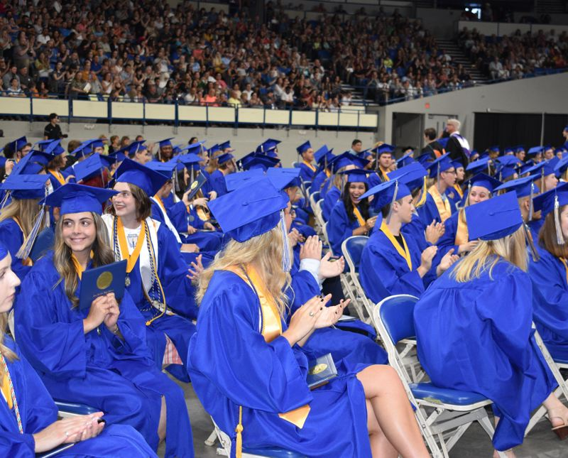 PMG FILE PHOTO - Unhoused students graduate at lower rates than other groups, but Barlow High School beat state averages for homless students getting a diploma.