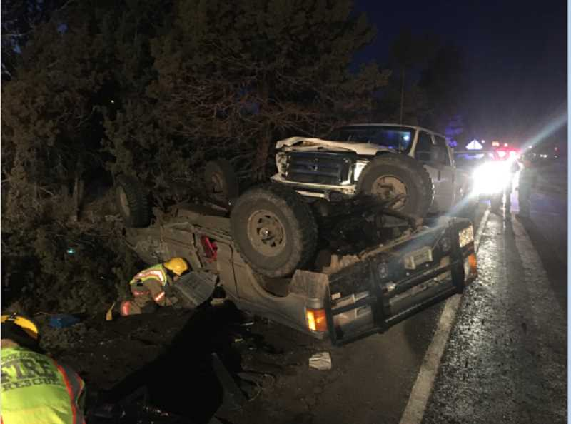 Local driver cited after two-vehicle collision in Juniper Canyon