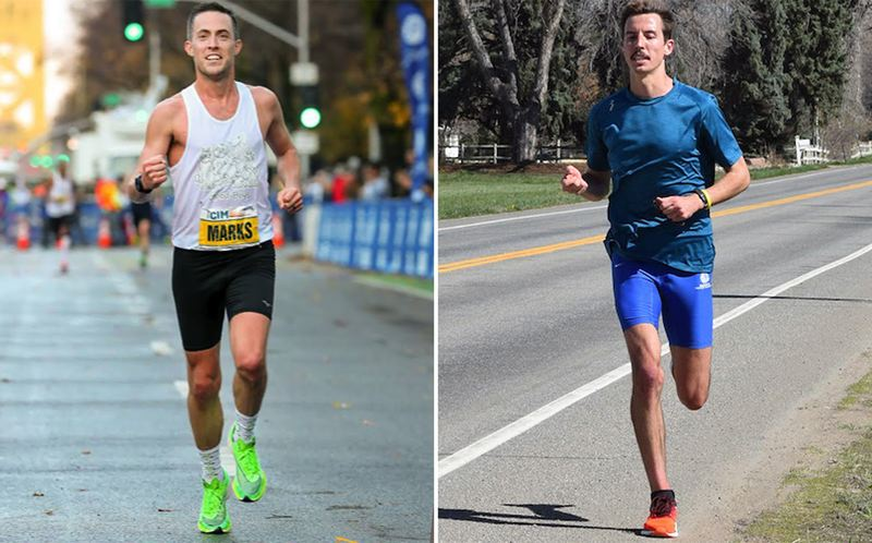 COURTESY PHOTOS - Lake Oswego natives Dave Marks (left) and Willie Milam will join Julian Heninger in the U.S. Olympic Trials for the marathon on Saturday, Feb. 29, racing for three berths to the U.S. Olympic team.
