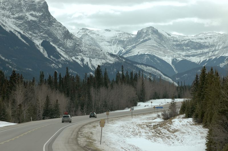 PMG PHOTO: JEFF ZURSCHMEIDE - Just some of the spectacular scenery awaiting participants in the 2020 Alcan 5000 Winter Rally.