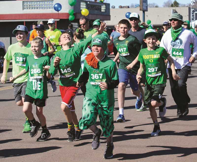 CENTRAL OREGONIAN - The Paddy Pint is intended to draw attention and people are encouraged to dress in green and wear costumes.