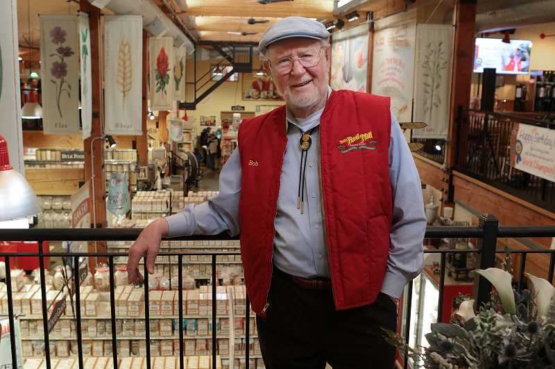 COURTESY PHOTO - Bob Moore, founder of Bobs Red Mill Natural Foods in Milwaukie, has become a national brand and recently celebrated his 91st birthday.