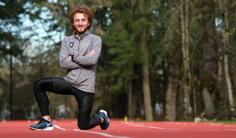PMG PHOTO: MILES VANCE - Lakeridge graduate Julian Henninger will join Lake Oswego natives Dave Marks and Willie Milam in the U.S. Olympic Trials for the marathon on Saturday, Feb. 29, in Atlanta, Georgia.