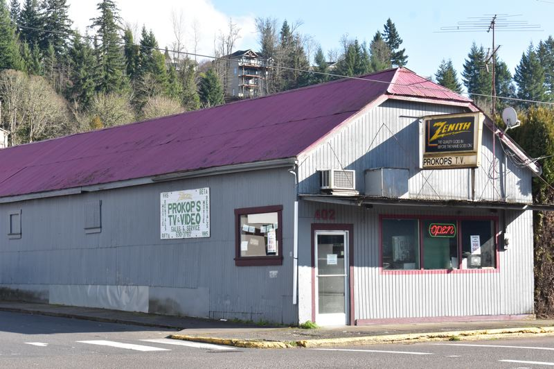 PMG PHOTO: EMILY LINDSTRAND - Prokop's TV Services has been a fixture in Estacada for more than six decades.